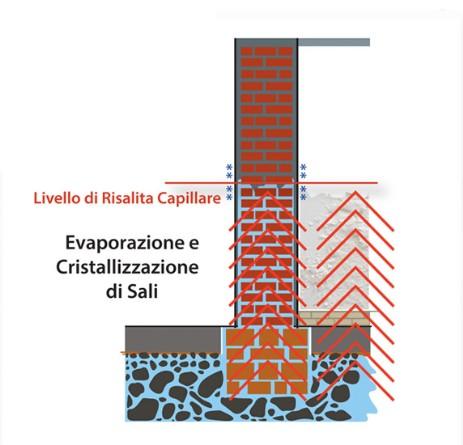 Biodry elimina la risalita capillare garanzia di - Risalita capillare ...